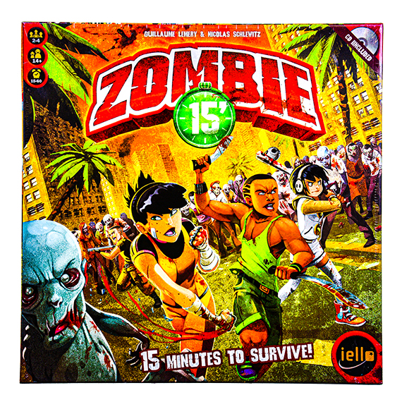 Zombie 15 Minutes to Survive Game - 2-4 Players - Ages 14+