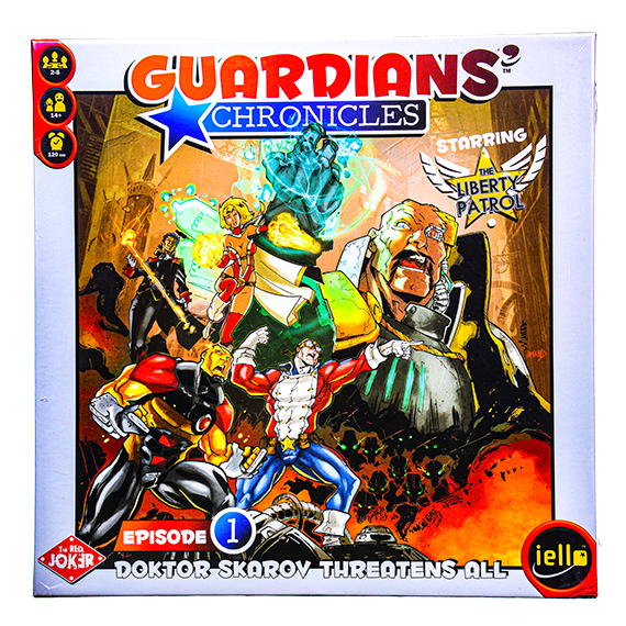 Guardians' Chronicles Board Game - 2-5 players - Ages 14+