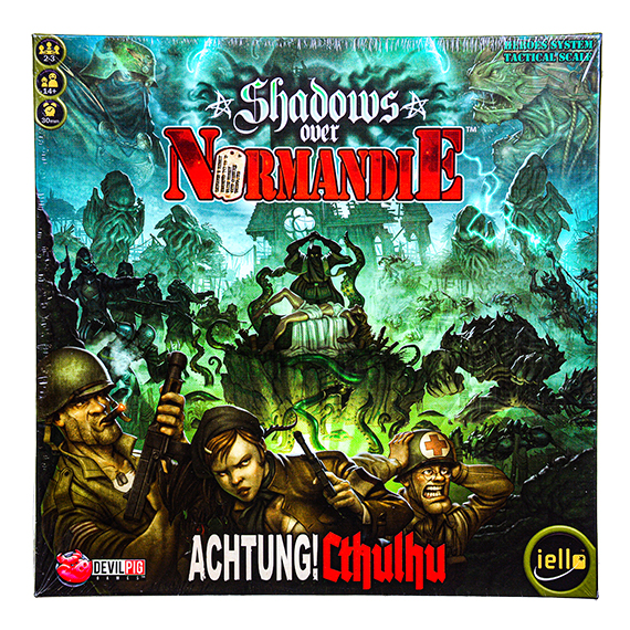 Shadows Over Normandie Board Game - 2-3 Players - Ages 14+