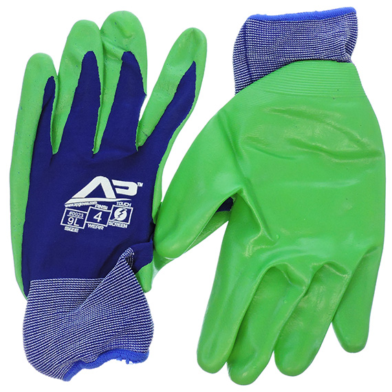 Glove Ultra Sheer Foam Nitrile Touchscreen Large