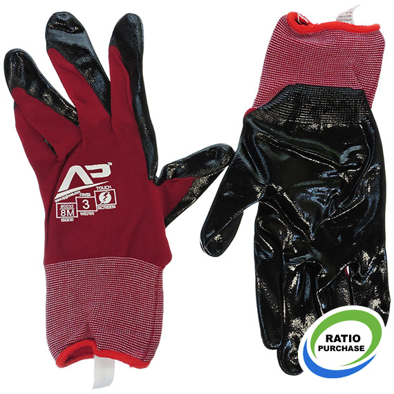Glove Ultra Sheer Nitrile Touchsceen Med