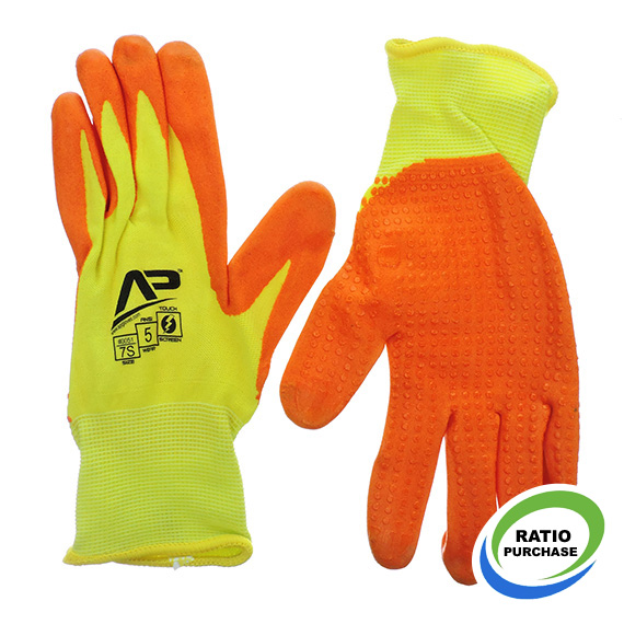 Glove Package Handler Hi-Vis Touchscreen Small