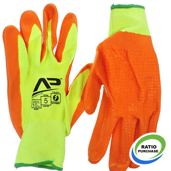 Glove Package Handler Hi-Vis Touchscreen XL