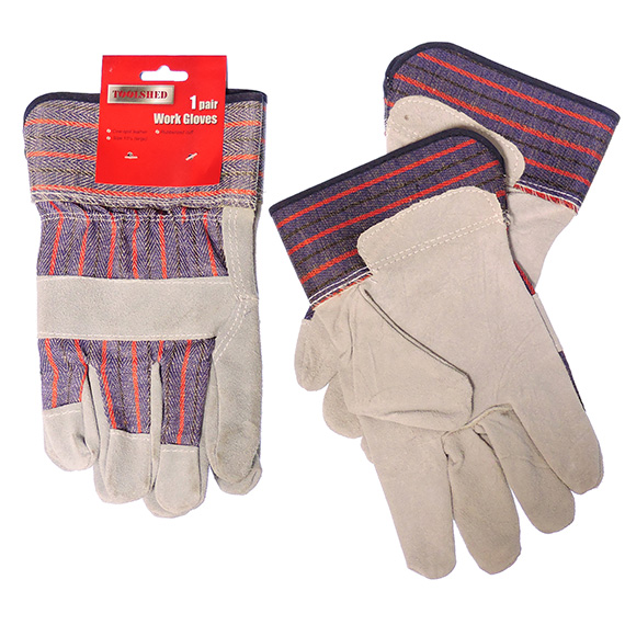 Gloves Cow Split Leather Large