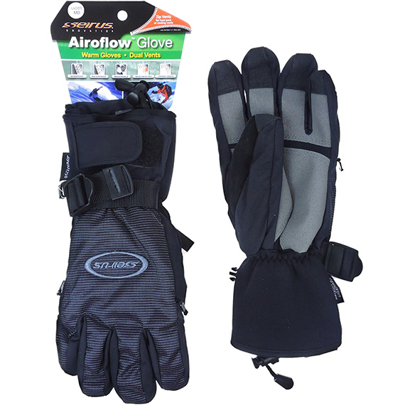 Airflow Dual Zip Vents Glove Ladies MD