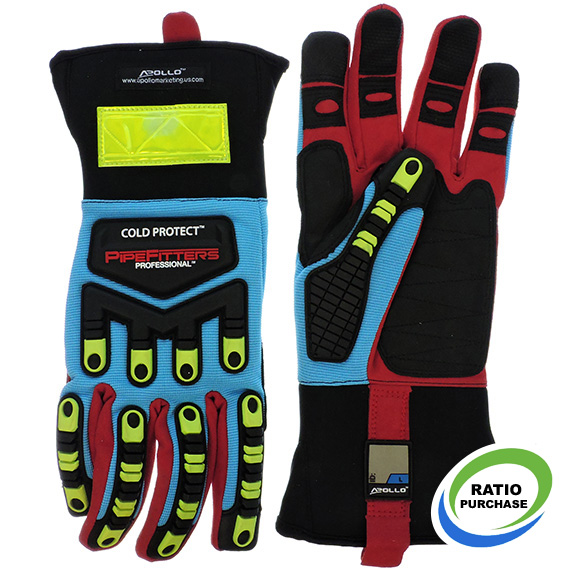 Glove Pipefitter Professional Cold Protect Touchscreen Large