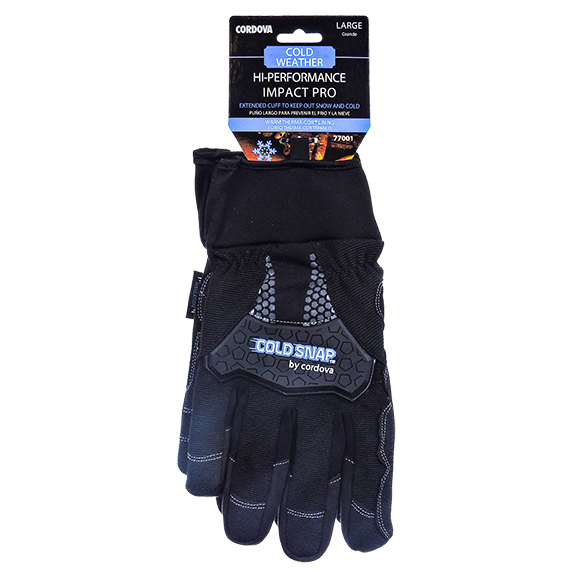 Performance Extended Cuff w/Therma-Cor Lining Glove-Large