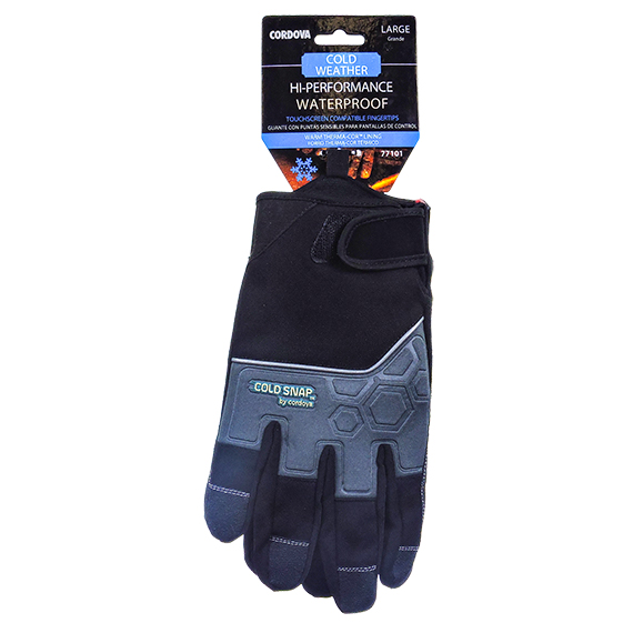 Performance Waterproof w/ Therma-Cor Lining Glove - Large