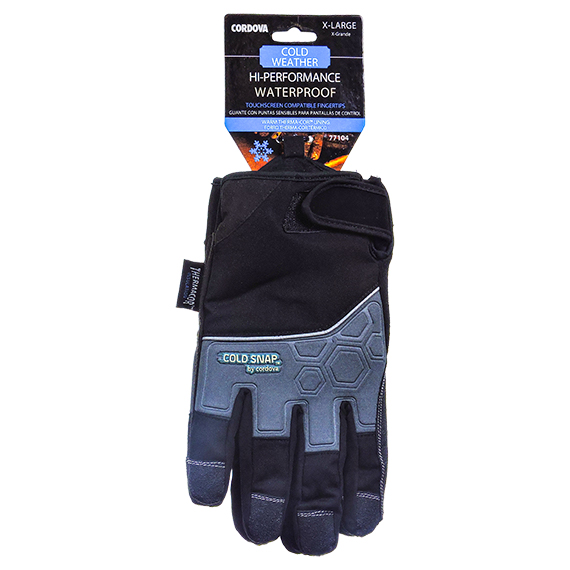 Performance Waterproof w/ Therma-Cor Lining Glove-Xtra Large