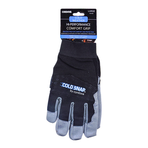 Performance Comfort Grip w/Therma-Cor Lining Glove-Large
