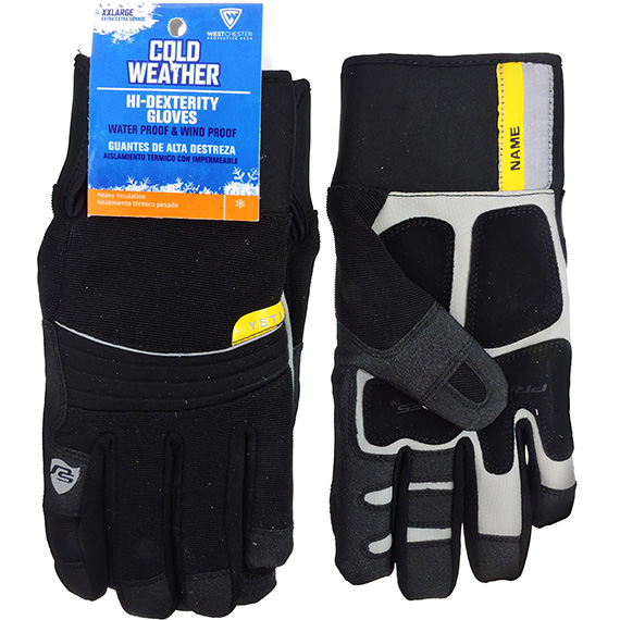 Glove Cold Weather Hi-Dexterity Black XXL
