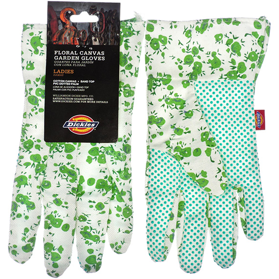 Glove Dickies® Ladies Canvas Gardening