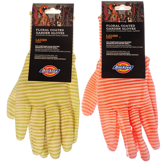 Glove Dickies® Ladies Coated Gardening 2 Assorted