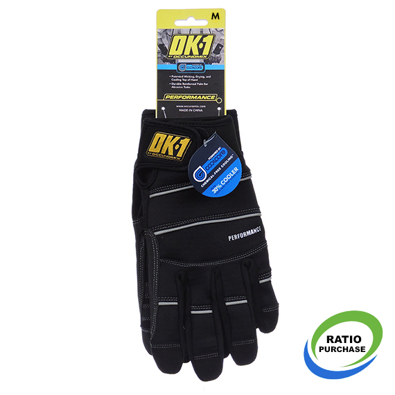 Med Performance Glove Black Coolcore
