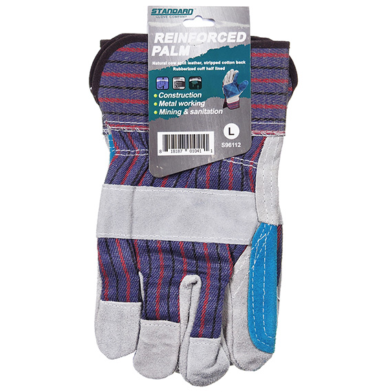 Reinforced Palm Glove - Large