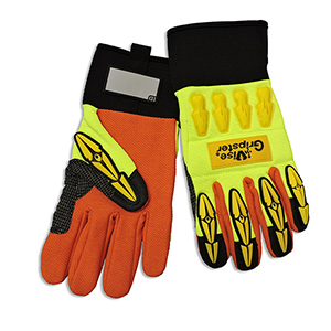 Glove X-Large Yellow and Orange Vise Gripster 6 pk