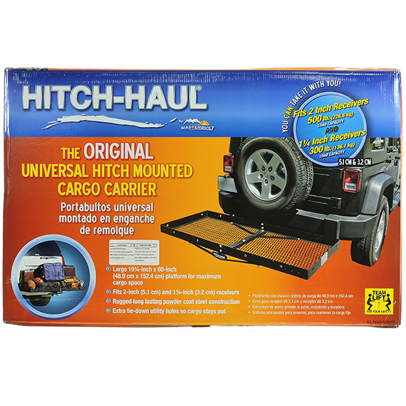 Hitch-Haul Universal Hitch Mounted Cargo Carrier