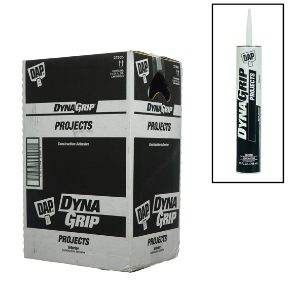 DynaGrip Projects 27 Oz - Interior Construction Adhesive