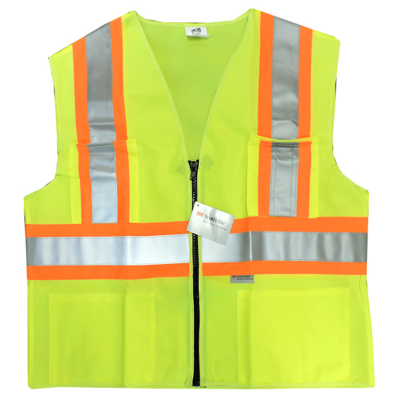 Ansi Class 2 Lime High Vis Vest 5XL