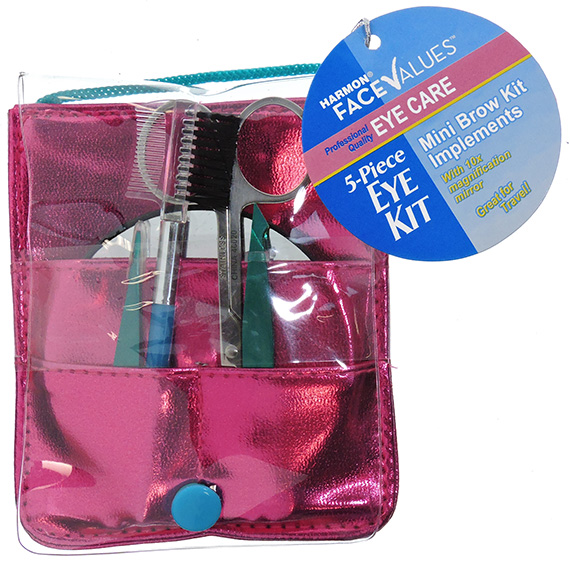 Eye Care Kit Tweeze Ease Pink and Teal