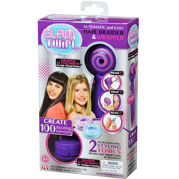 Glam Twirl Hair Braider & Wrapper