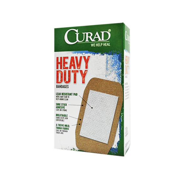 Bandages Curad® Heavy Duty XL 10 Ct
