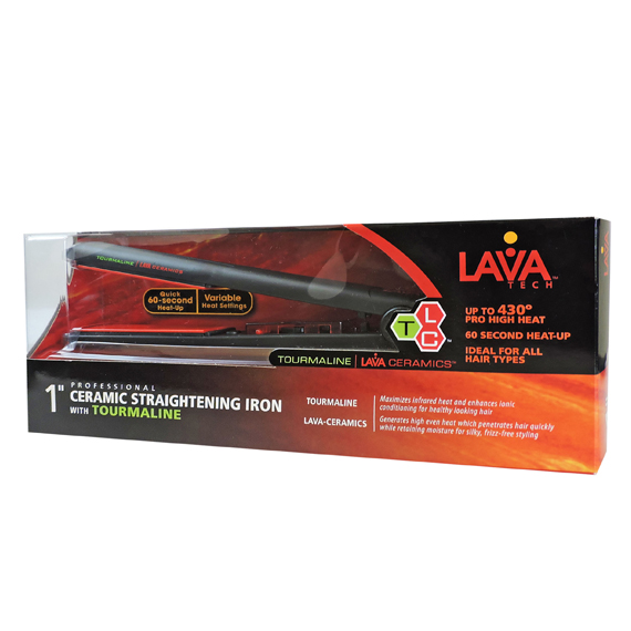 Ceramic Straightening Iron  LavaTEch™ 1