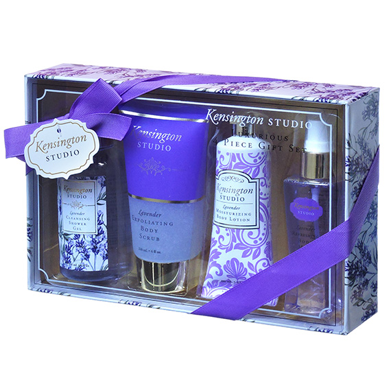 Gift Set Luxury Kensingtons Studio 4 Pc Lavender