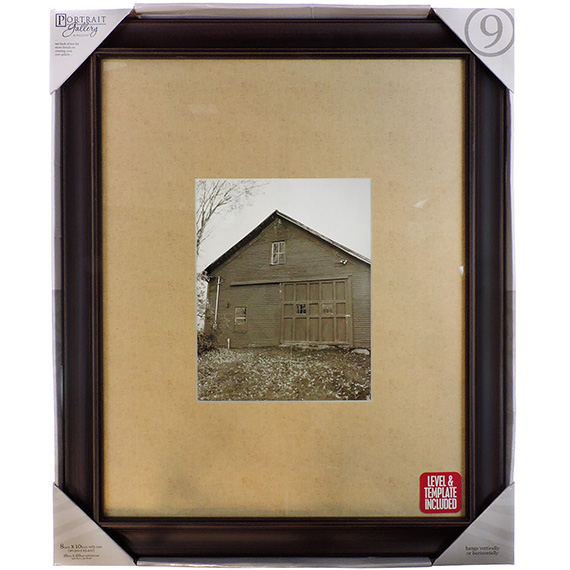 Frame Barnside Walnut Matted 16 x 20