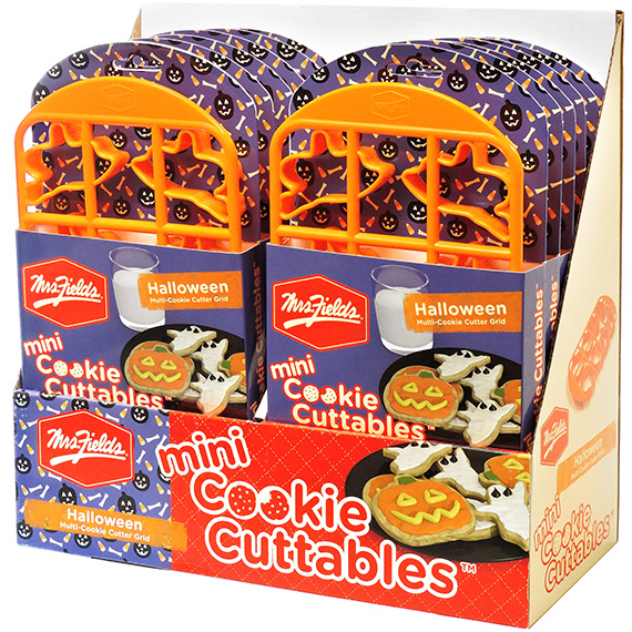 Mrs. Fields® Cookie Cuttables Halloween Mini in Display