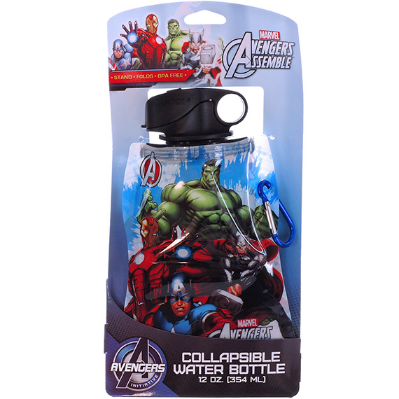 Collapsible Water Bottle Marvel Avengers 12oz