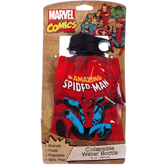 Collapsible Water Bottle Spider-Man 12oz