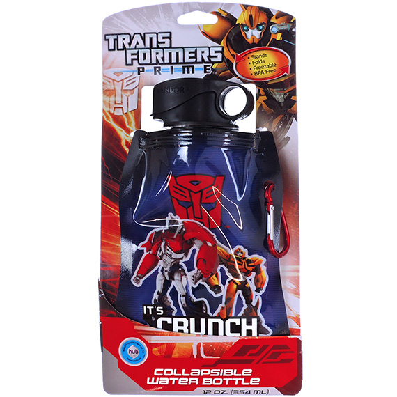 Collapsible Water Bottle Transformers 12oz