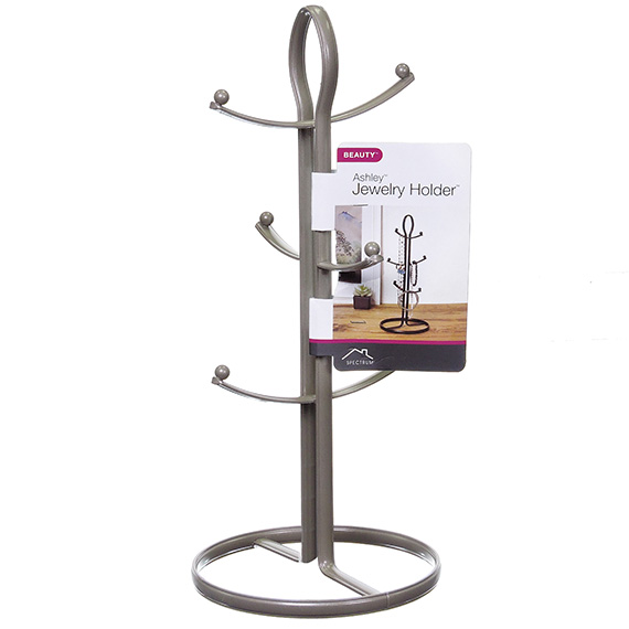 Ashley 6-Tier Metal Jewelry Holder Stand