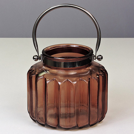 Lantern Brown LG Metal Handle