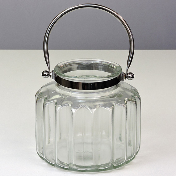 Lantern Clear LG Silver Handle