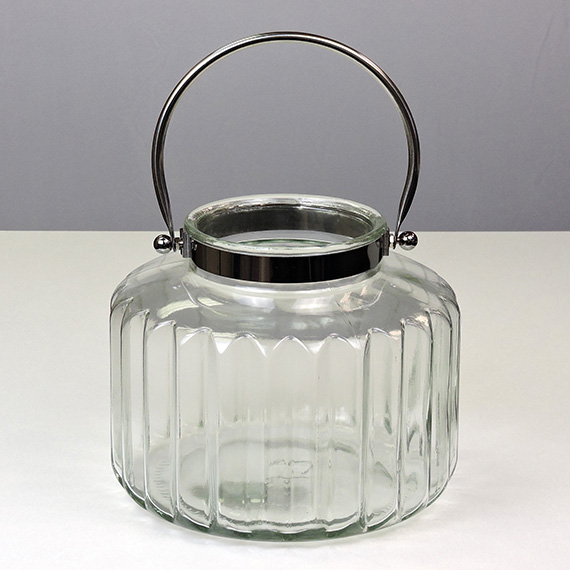 Lantern Clear XL Metal Handle