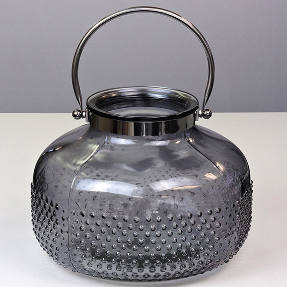 Lantern Smoke XL Checkered Metal Handle