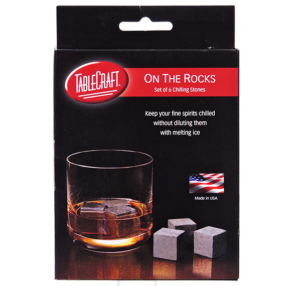 Chilling Stones - Set Of Six W - Bag
