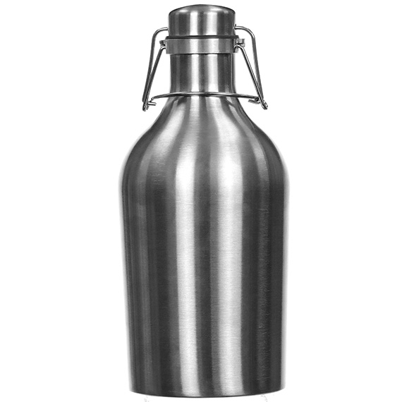 Stainless Steel Growler 64 Oz Single Wall Gsw2-64S