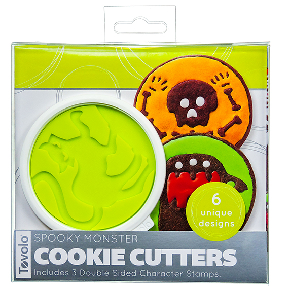 Spooky Monster Cookie Cutters Set Of 6 RS List