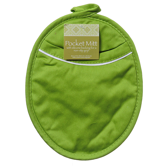 Green Pocket Mitt