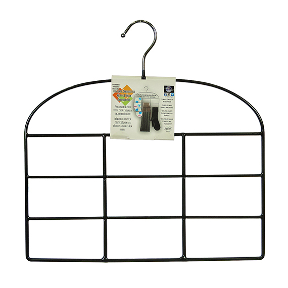 Tights And Nylon Organizer Hanger holds 12 pair