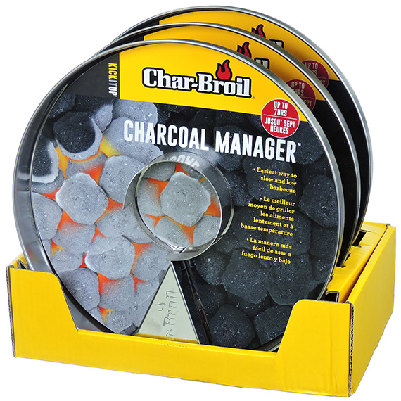 Charcoal Manager stainless steel