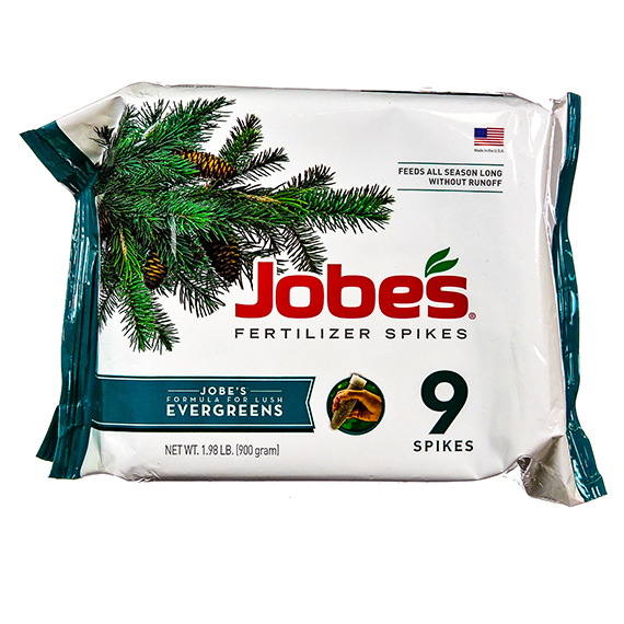 Jobes 9 Pk Fertilizer Spikes Evergreens - RS CA&No OnLine