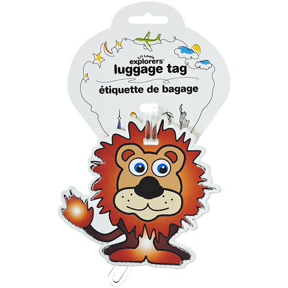 Luggage Tag Lil Lewis Lion