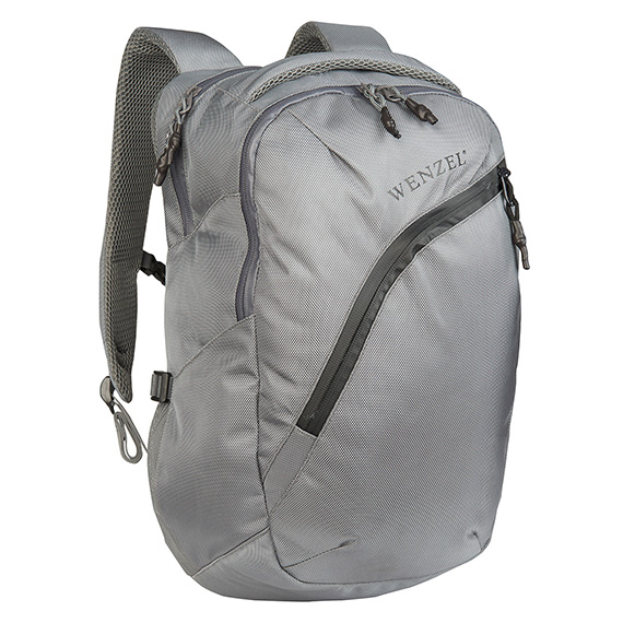 Wenzel Influx 25 Liter Backpack Day Pack Grey