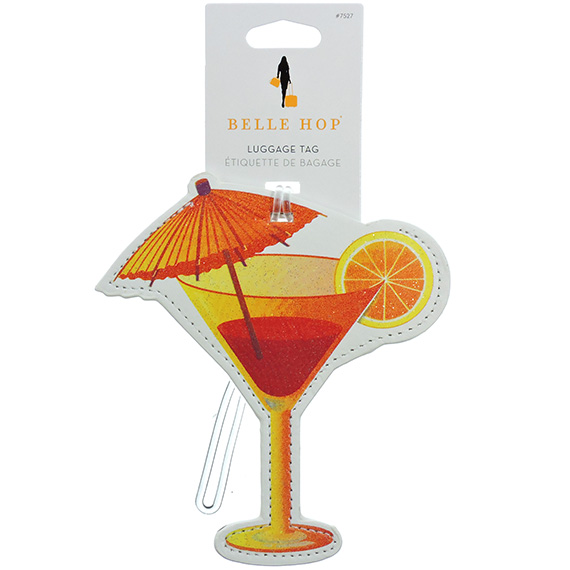 Luggage Tag Umbrella Drink