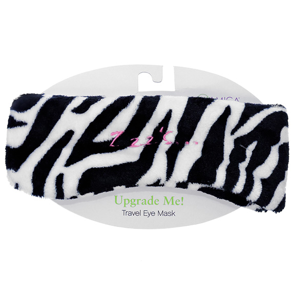 Eye Mask Zebra Print Zzz's...