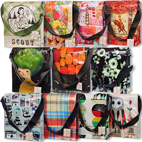 Messenger Bag Crossbody 10 Assorted Designs